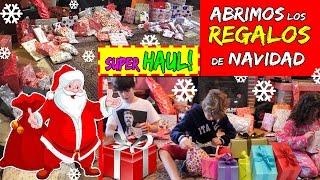Download ABRIMOS los REGALOS de navidad * Christmas presents SUPER HAUL Video