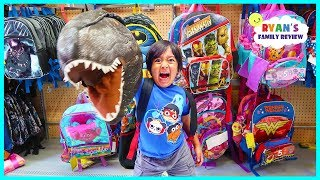 Download BACK TO SCHOOL SHOPPING with Ryan's Family Review!! Video