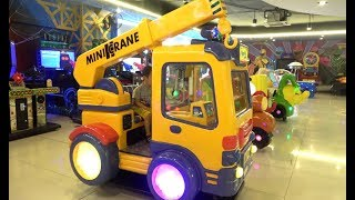 Download ABCkidTV Misa with Little Boy Playing Indoor playground family fun at play center Video