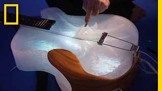 Download Coolest Concert Ever? Hear Ice Instruments Play Beautiful Music | Short Film Showcase Video