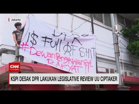 KSPI Desak DPR Lakukan Legislative Review UU Ciptaker
