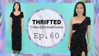 Download DIY One Shoulder Dress   Thrifted Transformations Ep. 60 Video