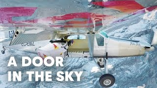 Download 2 wingsuit flyers BASE jump into a plane in mid-air. | A Door In The Sky Video