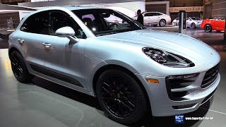 Download 2017 Porsche Macan GTS V6 Turbo - Exterior Interior Walkaround - 2017 Chicago Auto Show Video