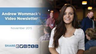Download Andrew Wommack's Video Newsletter - November 2015 Video
