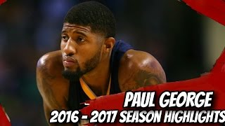 Download Paul George Season Highlights // 2016 - 2017 NBA Season // OKlahoma City Thunder! Video