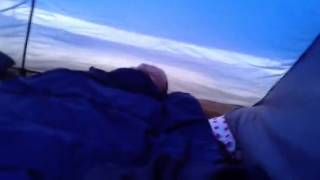 Download Very windy tent Video