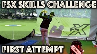 Download FSX SKILLS CHALLENGE - My First Attempt - I could get into this! Video