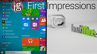 Download Windows 10 vs Linux | Linux Mint 17.2 Impressions Video
