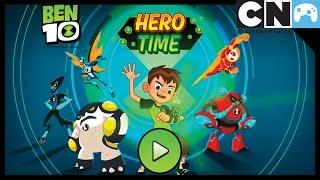 Download Ben 10 Games | Hero Time App Gameplay | Cartoon Network Games Video
