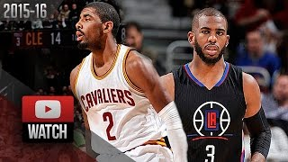 Download Kyrie Irving vs Chris Paul PG DUEL Highlights (2016.01.21) Cavaliers vs Clippers - 51 Pts! Video
