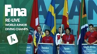 Download Re-Live - Day 1 Opening Ceremony - FINA World Junior Diving Championships 2016 - Kazan (RUS) Video