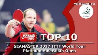 Download DHS ITTF Top 10 - 2017 Australian Open Video