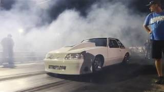 Download Vinnie Cuozzo Testing 5-26-17 Richmond Dragway Ford Mustang Small Block Nitrous Getfast1 Video