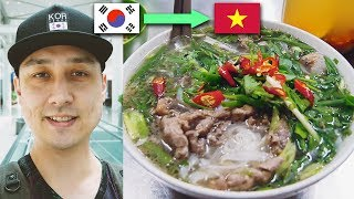 Download GOODBYE KOREA, HELLO VIETNAM | First day in Hanoi, Best Pho Noodles so far, Ripped off by Fruit lady Video