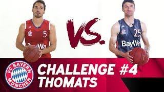 Download ThoMats #4   Basketball Challenge   Müller vs. Hummels Video