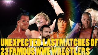 Download Top 23 Instances Where WWE Fans Didn't Realise That It Was Their Favorite Wrestler's Last Match Video
