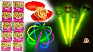 Download Glow In The Dark Emojis, Foam Dinosaurs, My Mini MixieQs Surprise Blind Bags - Dollar Tree Haul Video