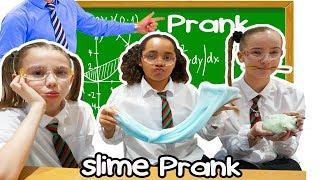 Download TIANA'S SLIME PRANK IN SCHOOL CLASSROOM!! Video