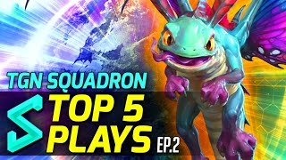 Download TGN Squadron's Top 5 Plays in Heroes of the Storm | Episode 2 | Heroes of the Storm Gameplay Video