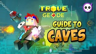 Download TIPS & TRICKS TO NAVIGATE TROVE GEODE CAVES! - Trove Geode Caving Guide / Tutorial Video