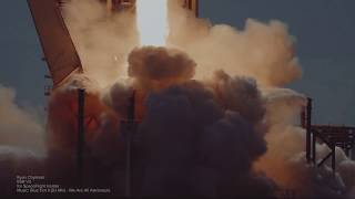 Download Slow Motion Rocket Chill Mix, SpaceX Falcon 9 block 5 - We Are All Astronauts Video