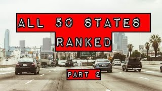 Download The Ranking of all 50 United States Part 2 # 30 to 11 Video
