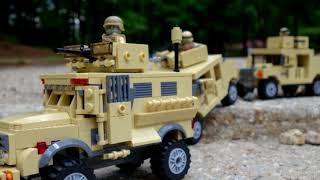 Download Battle Brick Play With Honor - Custom LEGO Army Military Video