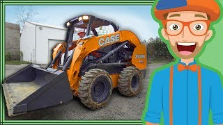 Download Skid Steer with Blippi | Construction Trucks for Kids Video