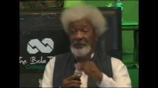 Download Nobel Laurete, Wole Soyinka, eulogises Bola Tinubu Video