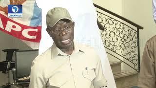 Download Oshiomhole Clears Air On Rivers,Ogun,Imo & Zamfara APC Primaries Pt.4 Video