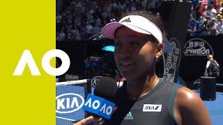 Download Naomi Osaka on-court interview (4R) | Australian Open 2019 Video