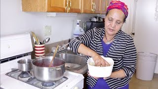 Download Ethiopian Food - How to Make Key Sir and Dinich Wet - የቀይ ስር እና ድንች ወጥ አሰራር Video