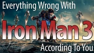 Download Everything Wrong With Iron Man 3 According To Our Viewers Video