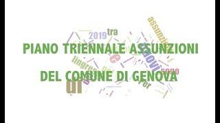 Download Piano triennale assunzioni del Comune di Genova Video