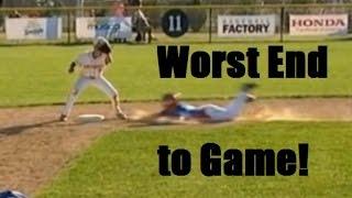 Download Worst baseball game ending. Little League world series great game - sad ending. Video