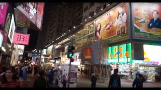 Download HONG KONG AT NIGHT, MARKETS, FASHION DISTRICT, DOWNTOWN AND MORE... Video