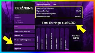 Download Become A Millionaire FAST & EASY - GTA Online After Hours DLC Nightclub Business Money Making Guide! Video
