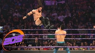Download TJ Perkins vs. Neville: WWE 205 Live, Jan. 3, 2017 Video