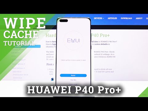 How to Wipe Cache Partition in Huawei P40 Pro+ | Refresh System