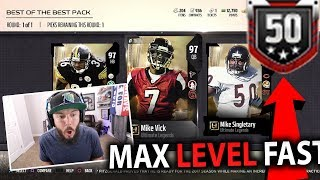 Download BEST OF THE BEST PACK!! FASTEST WAY TO LEVEL UP IN MADDEN 18! | MADDEN 18 PACK OPENING Video