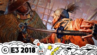 Download Sekiro: Shadows Die Twice's World Takes Cues from Dark Souls | E3 2018 Video