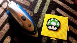Download ~ How to Use Perler Beads~ 1up Mushroom! ~ Video
