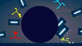 Download We Used Black Holes To Destroy The Map in Stick Fight Video
