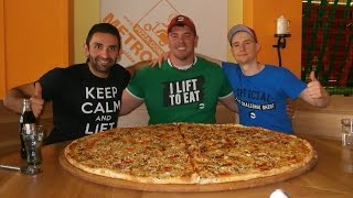 Download 7kg(15.5lbs) Team Pizza Challenge w/ Randy Santel, Radim!! Video
