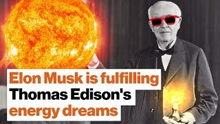 Download Elon Musk is fulfilling Thomas Edison's energy dreams | Michio Kaku Video