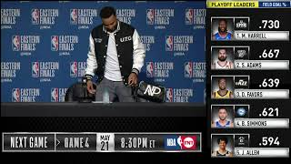 Download Norman Powell Press Conference | Eastern Conference Finals Game 3 Video