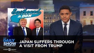 Download Japan Suffers Through a Visit from Trump: The Daily Show Video