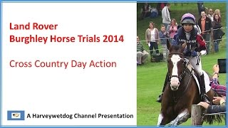 Download Land Rover Burghley Horse Trials 2014: Cross Country Video