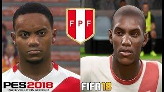 Download PES 2018 vs FIFA 18 ″PERU″ Comparación - FULL HD Video